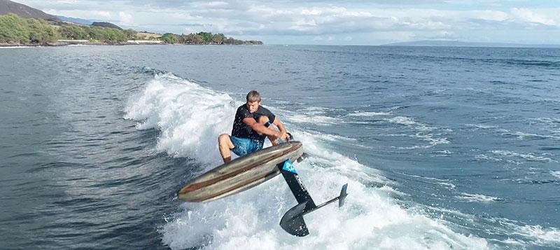 zane schweitzer hydro foil surf